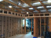 Soffit and Wall Framing. | Basement Projects | Pinterest ...