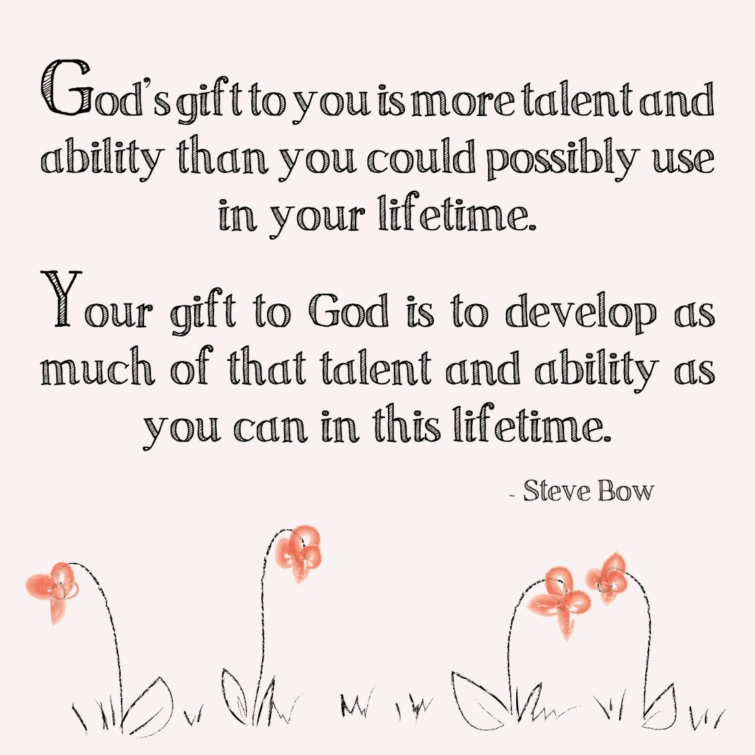 bible verses about gifts and talents