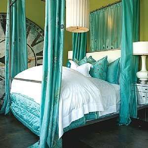 Anichinis Peacock bedding will transform your boudoir