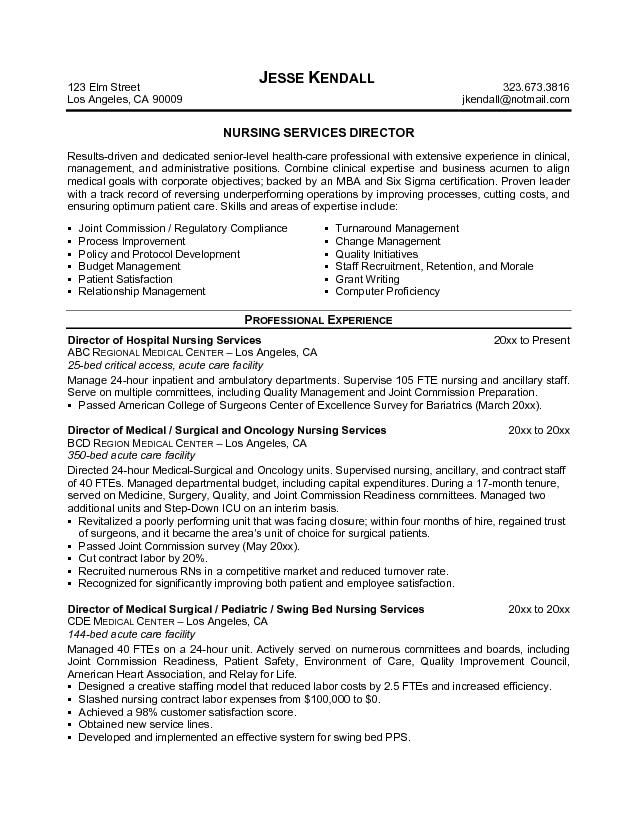 free resume objective examples