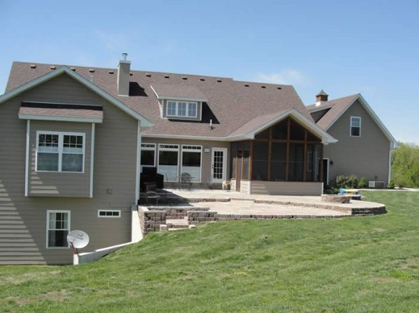 ranch house plans with walkout