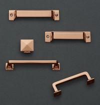 modern copper cabinet pulls  Roselawnlutheran