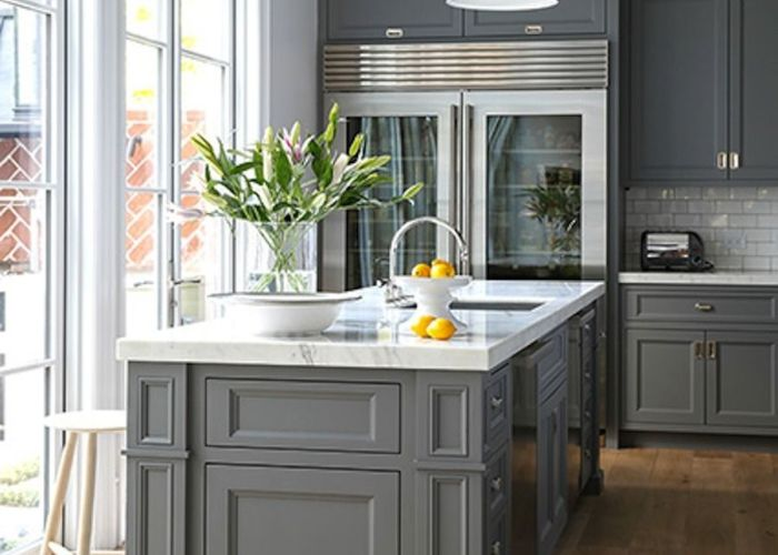 stunning gray kitchens also and