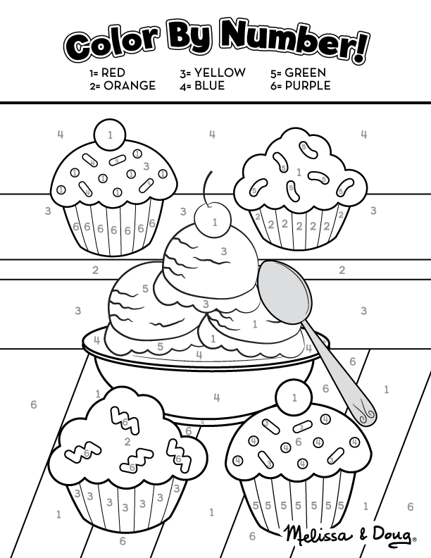 Sweet Treats Educational Printable Activity Pages for Kids