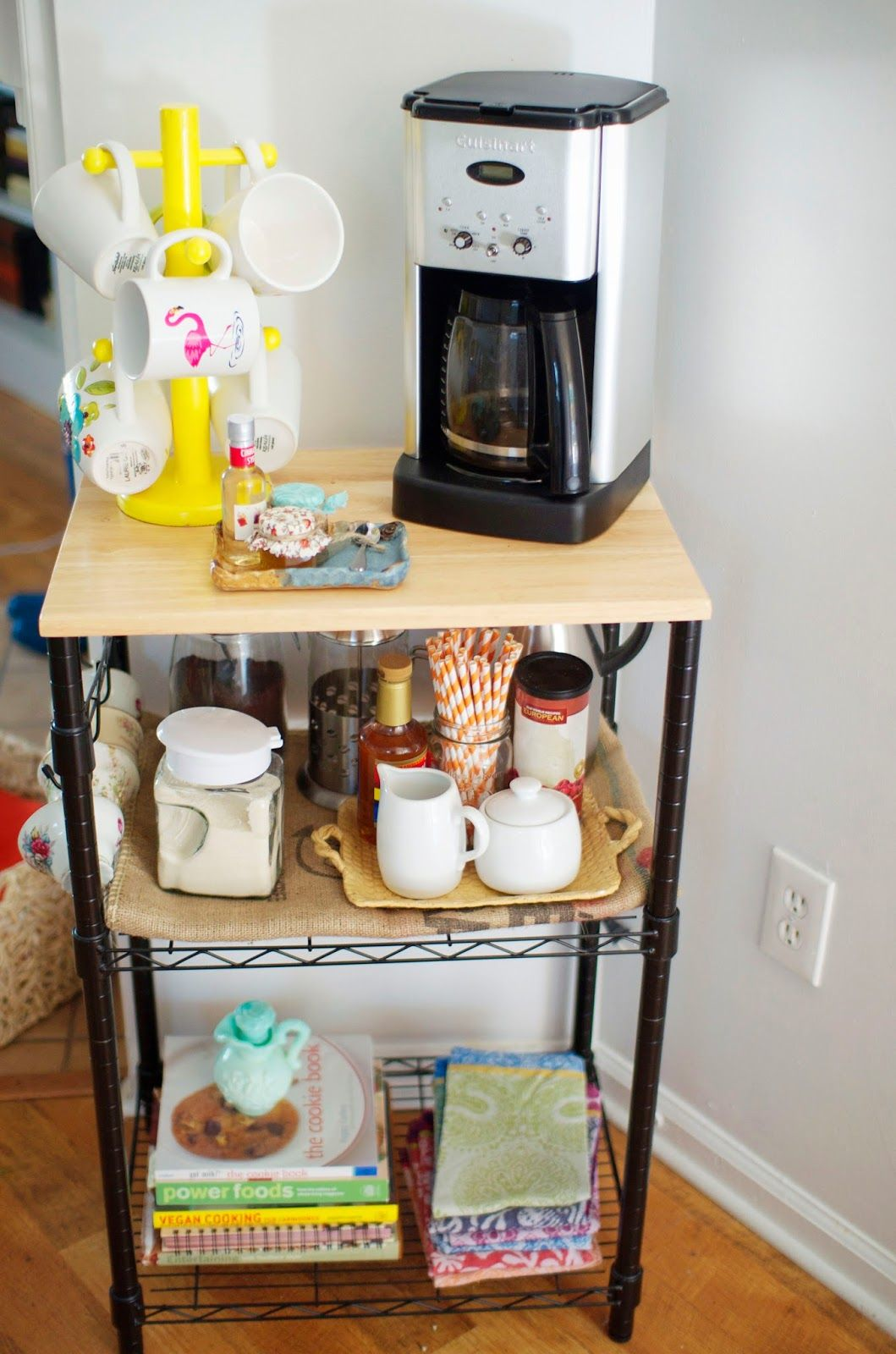Microwave Cart on Pinterest