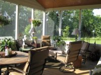 Screened Patio Curtain Decorating Ideas | Here is a link ...