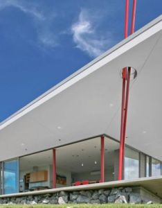 New zealand tent house offers contemporary holiday hotspot also rh pinterest