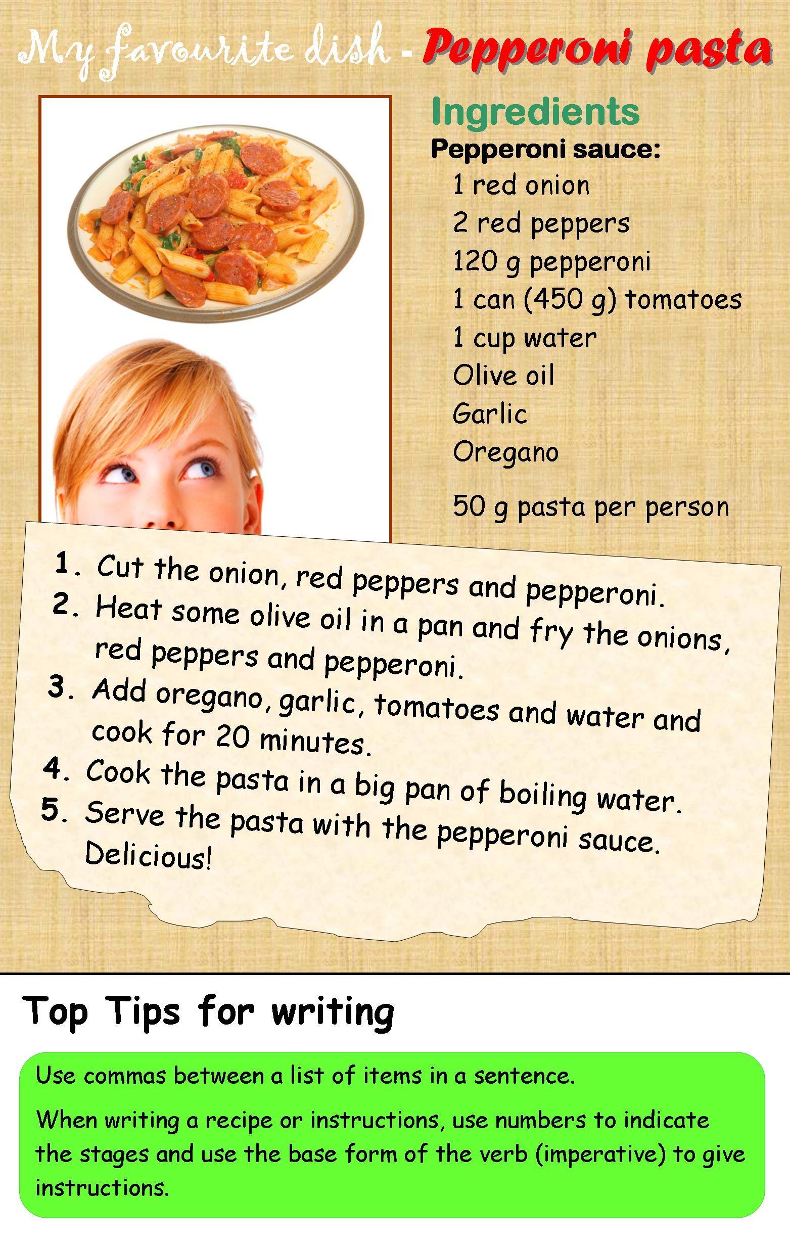 A Recipe