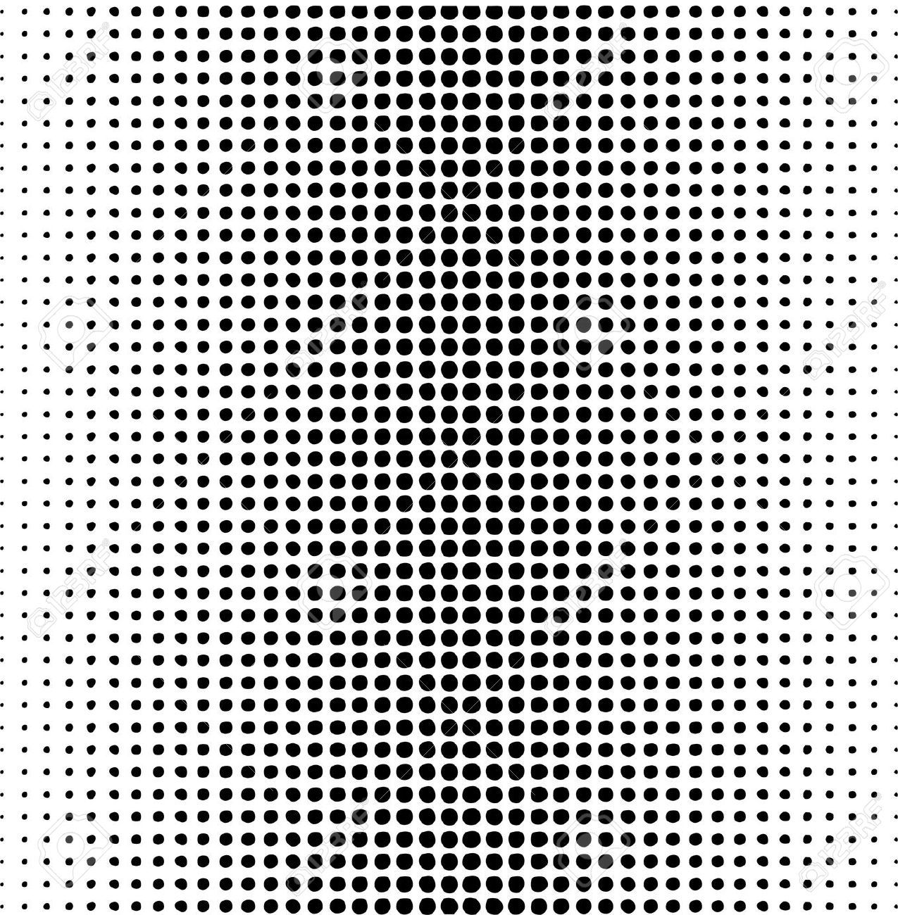 Dots Pattern On A White Royalty Free Cliparts Vectors