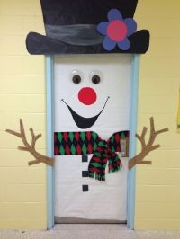 Classroom door decoration Christmas