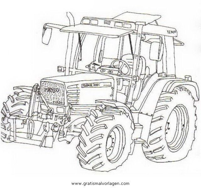 Wellcome to Image Archive: CLAAS XERION AUSMALBILDER