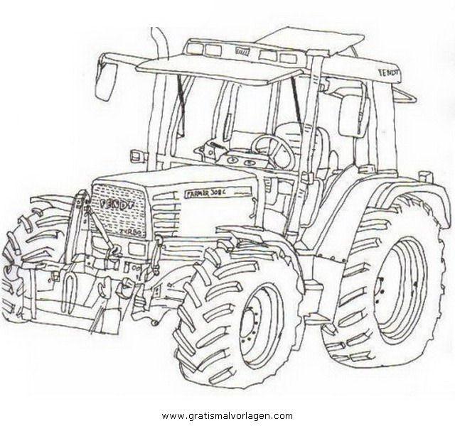 Bilder Zum Ausmalen Und Ausdrucken Traktor