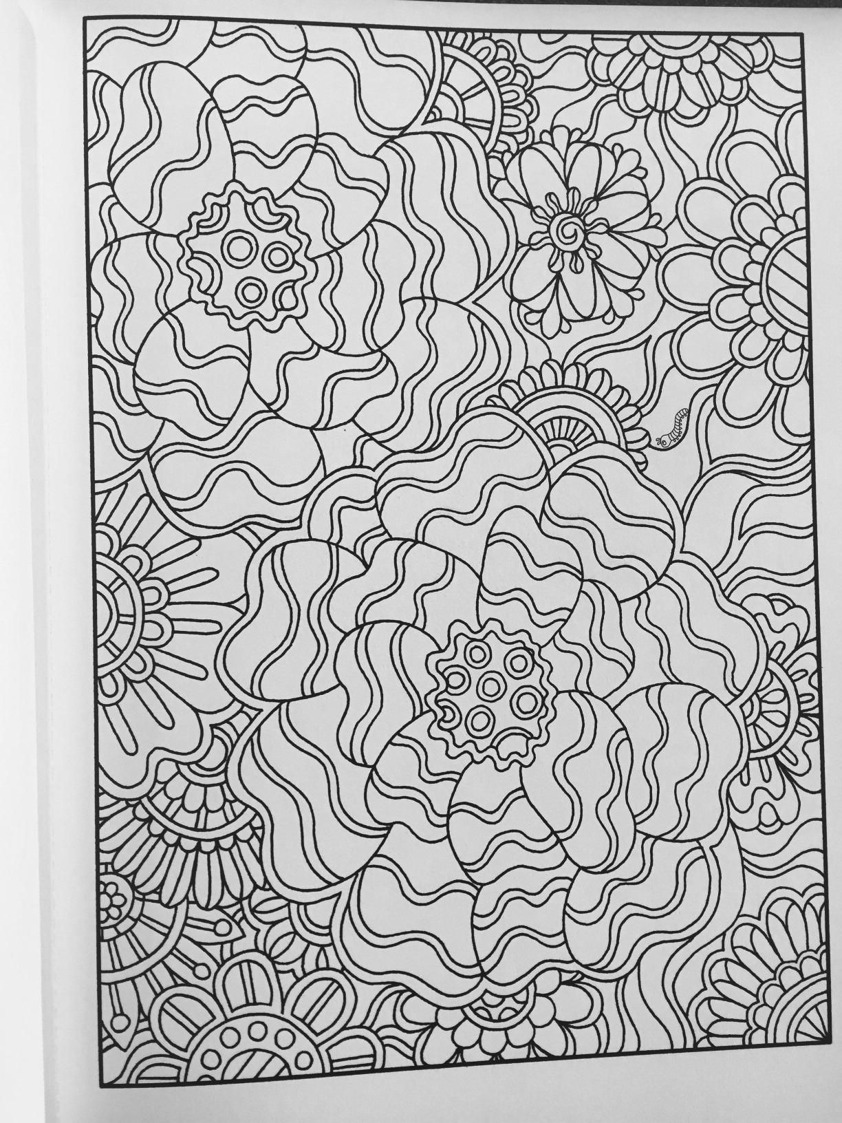 Amazon Creative Haven Dream Doodles A Coloring Book With A Hidden Picture Twist Adult