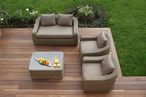 maze rattan natural milan corner sofa set green cushions club brugge u21 oostende sofascore rounded with