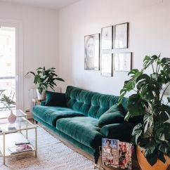 Emerald Green Sofa Covers Grey Black Rug 10 Biggest Fall 2017 Decor Trends