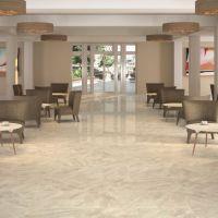Nairobi cream floor tiles are beautiful high gloss floor ...