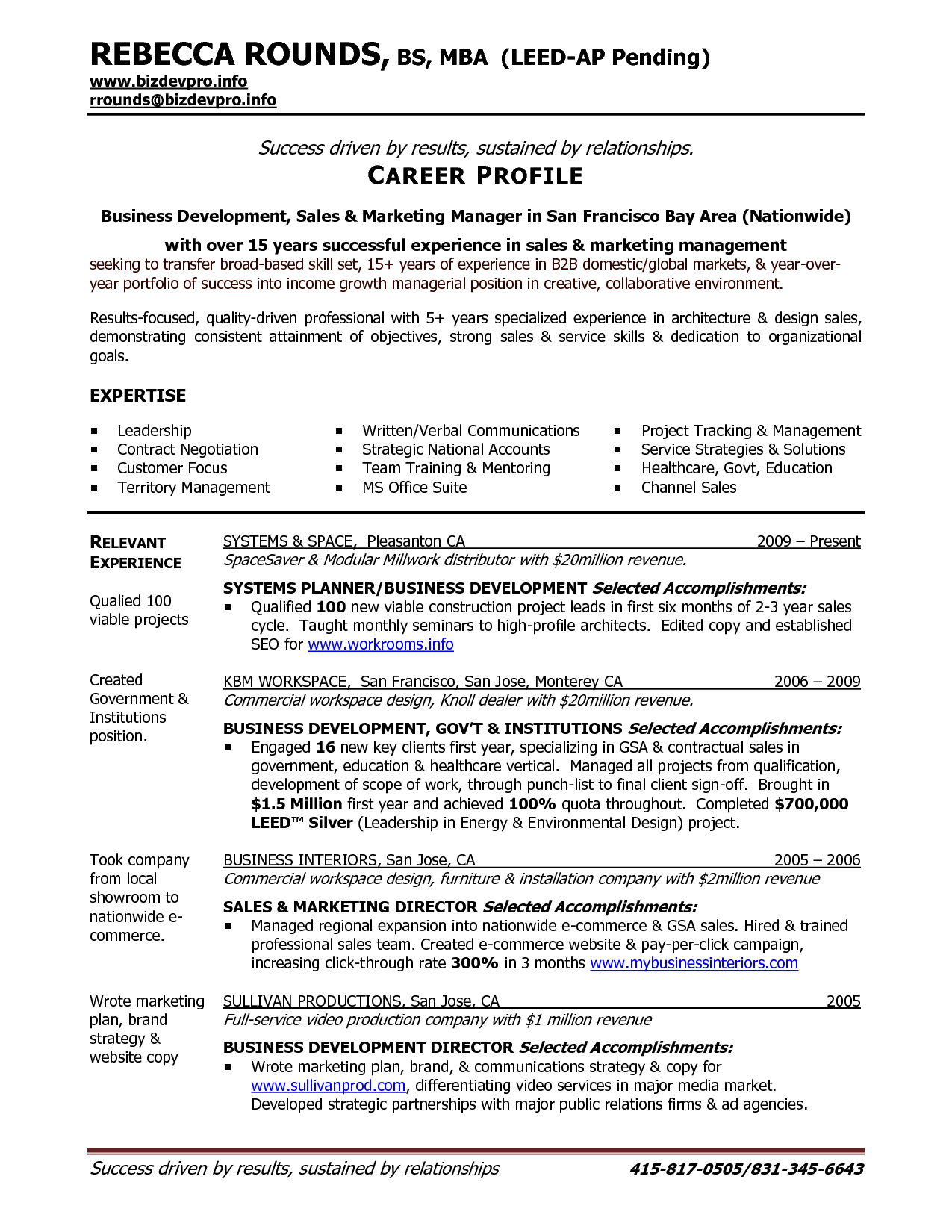 business management resume examples