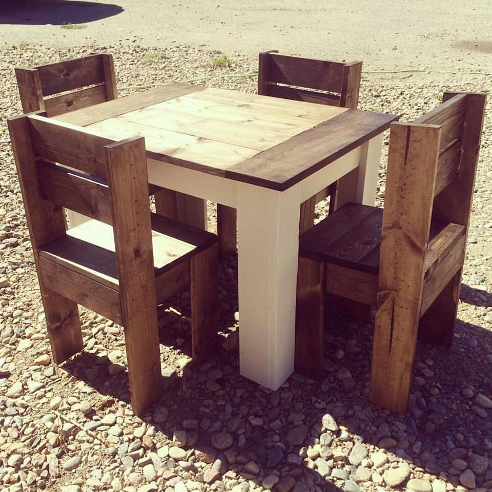 2x4 kids table and chairs  Projects to Try  Pinterest