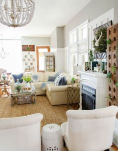 tips for refreshing your living room spring with birch lane also rh pinterest