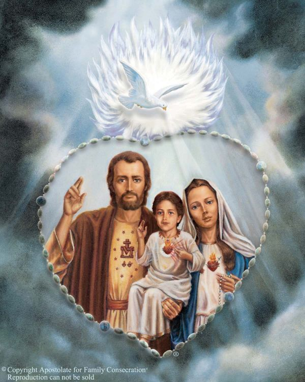 Holy Family Enthronement June 8th-9th