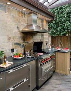 Modern outdoor kitchen designs best interior wall paint check more at also rh pinterest