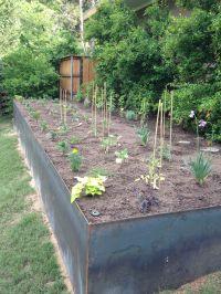 Steel Vegetable Garden/Retaining Wall | Farm | Pinterest ...