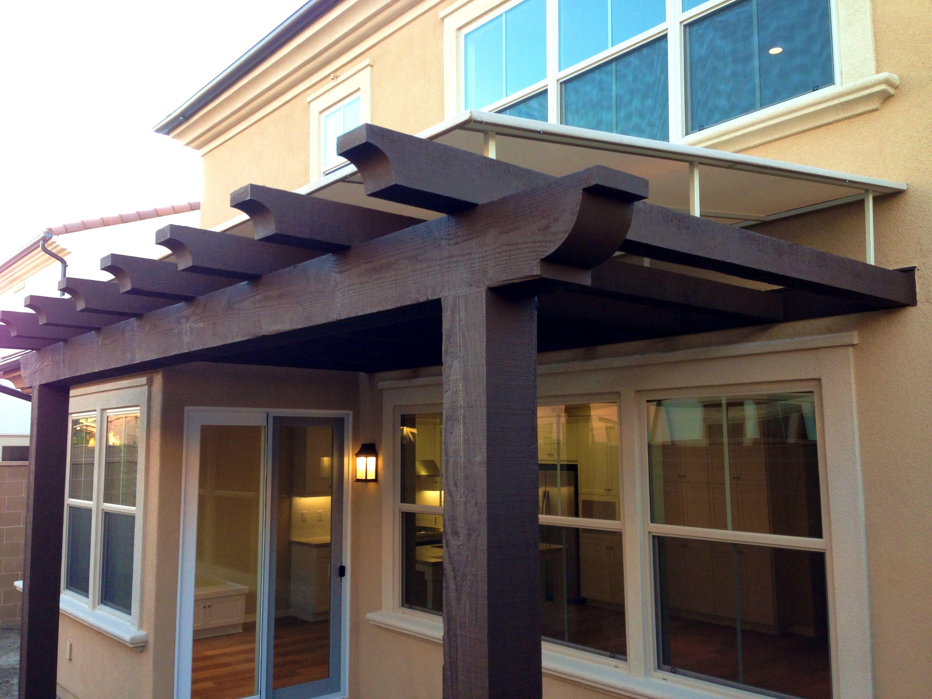 backyard patio ideas amazing wood awning kits