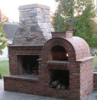 The Riley Family Wood-Fired DIY Brick Pizza Oven and ...