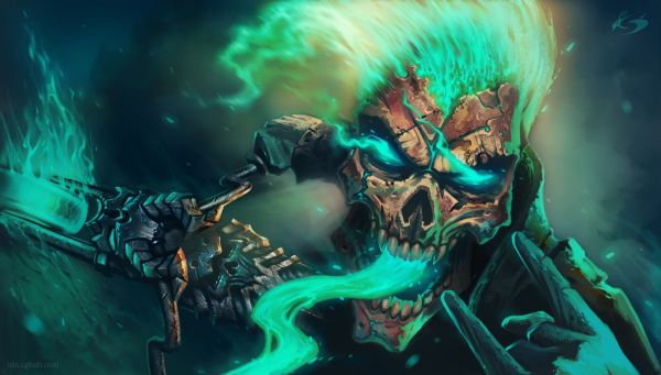 Cool Wallpapers Ghost Rider Danaspdd.top Backgrounds