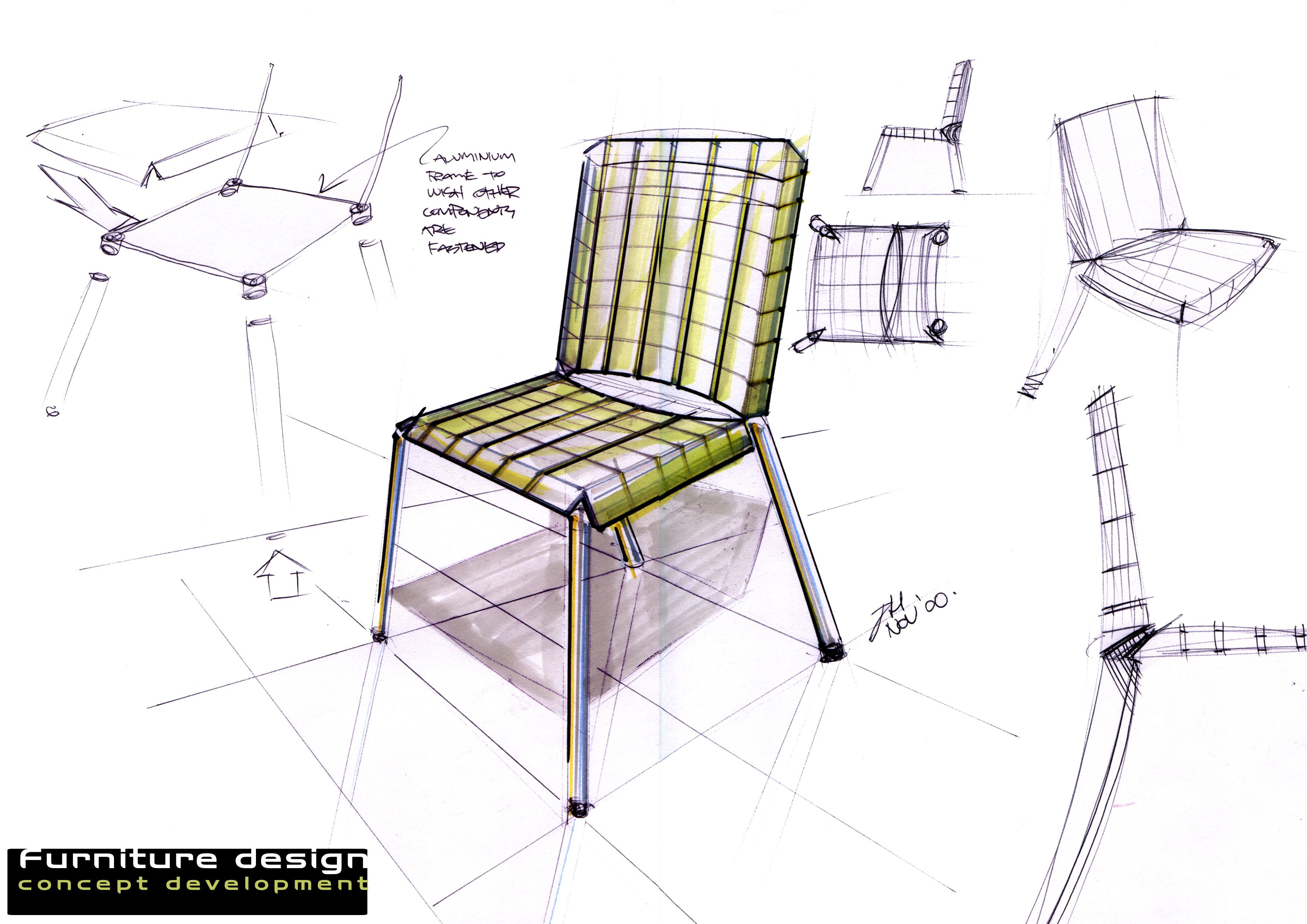 chair industrial design red rocking chairs furniture drawing pesquisa google