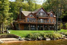 Lake House Plans with Walkout Basement