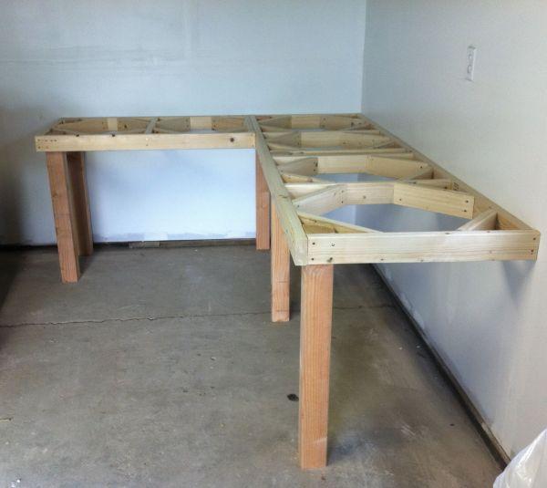 Garage Corner Workbench - Google