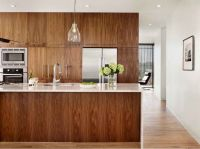 Contemporary Walnut Kitchen Cabinets | Kitchen | Pinterest