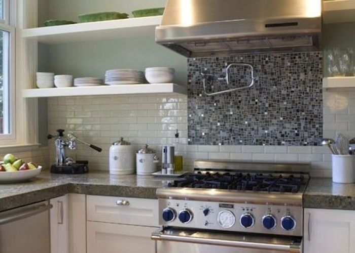 Love the  bedazzled  backsplash kitchen ideas pinterest gardens stove and cabinets also