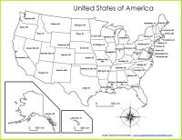 Super Teacher Worksheets has a variety of USA maps! Choose ...