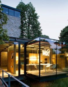 London based architects pcko designed the jodlowa house in krakow poland collaboration with mofo glass is located on outskirts also home by and rh pinterest