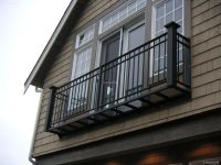 Wrought iron balcony railings repair 2016