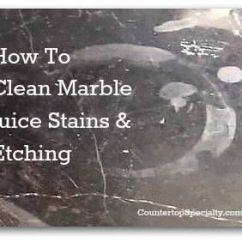 How To Restore A Leather Sofa Outdoor Furniture Sectional Tried-n-true Diy Solutions For Cleaning Marble Juice ...