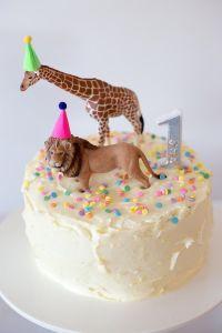 Cake from a Party Animal 1st Birthday Party via Kara's ...