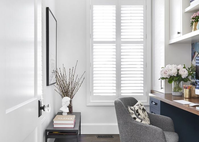 Masonite interior door in one room challenge home office reveal by vanessa francis design also ideas for the house pinterest