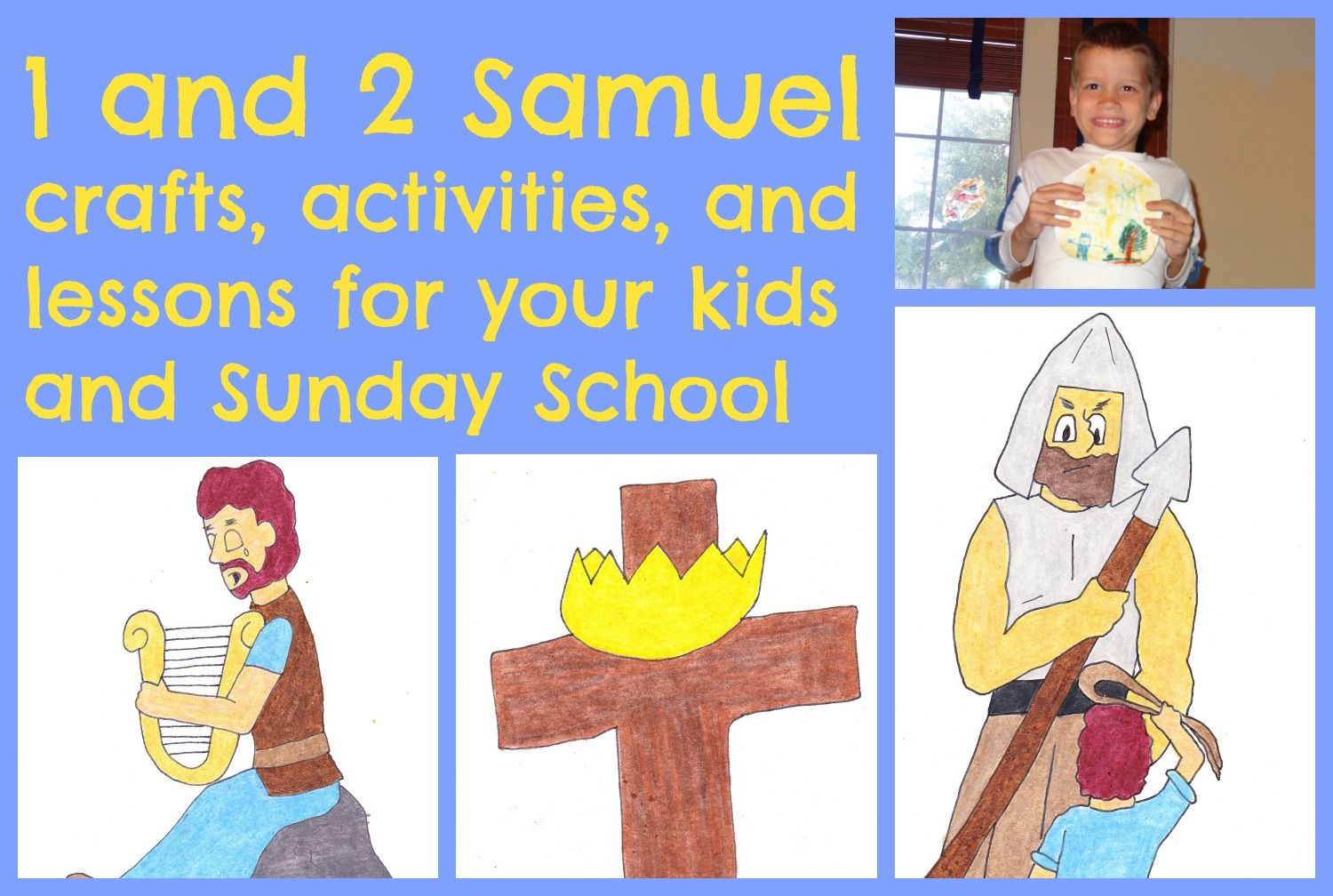 1 And 2 Samuel Crafts Activities And Lessons For Your Kids And Sunday School