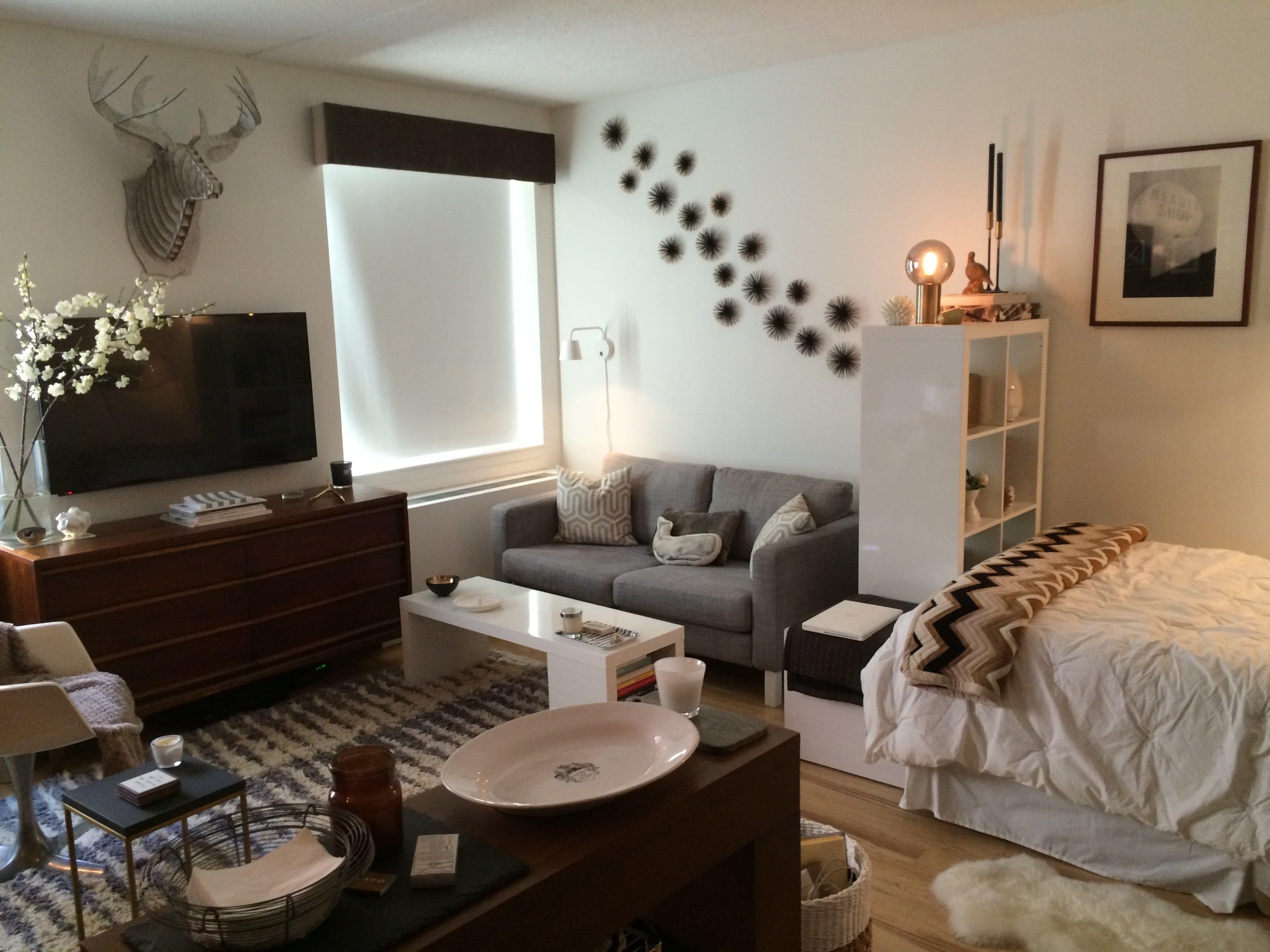 5 Studio Apartment Layouts that Work  Studio apartment