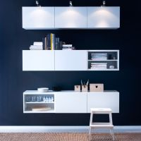 BEST white wall cabinets with doors and GRUNDTAL ...