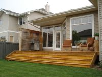 Deck and Patio Designs | Exterior Deck and Privacy Wall in ...