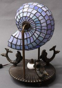 Tiffany nautilus lamp | Vintage Lighting | Pinterest ...