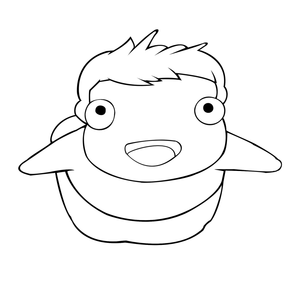Coloring Pages Ponyo Ponyo Coloring Pages To Print Free