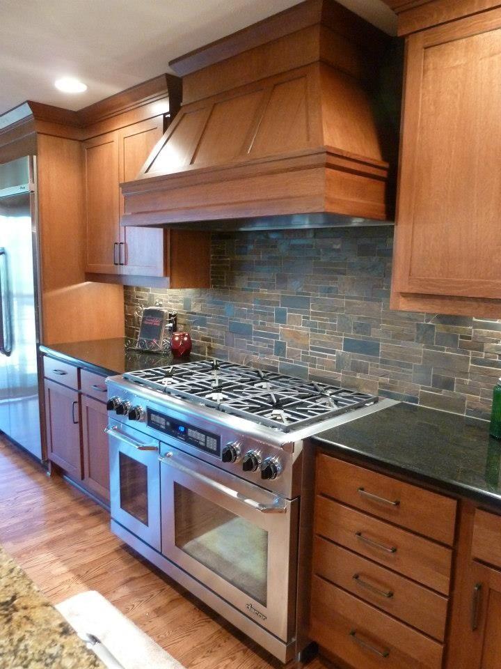 20 Kitchens With Stone Backsplash Designs  Stone