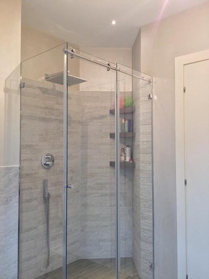 bagno con doccia  I miei progetti su wwwcosedicasacom  Pinterest
