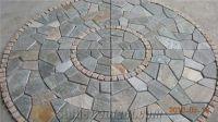 Natural Paving Stone Pattern, Mosaic Patio | Gardening ...