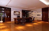 modern ceo office interior design - slightly reflective ...